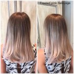 Beautiful frosted pink balayage by Lydia #norwichhairdressers #colour #Norwich https://t.co/vKwpSV9qdI