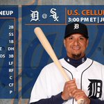 #Tigers lineup for the series finale vs. the White Sox: https://t.co/t5y0E17X1y