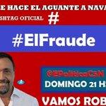 Vamoooos robots y robotas jaaaa,todos y todas #ElFraude por @C5N con @robdnavarro en @EPoliticaC5N #ElFraude https://t.co/0CDIvNiIQF