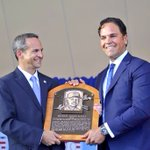 Welcome to the @baseballhall, Mike Piazza! (via @MLB) https://t.co/tBf6lHSMHv