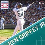 The Kid enters the Hall. Ken Griffey Jr. enters the Hall of Fame as the 1st representative of the Seattle Mariners. https://t.co/AVz8igFiWE