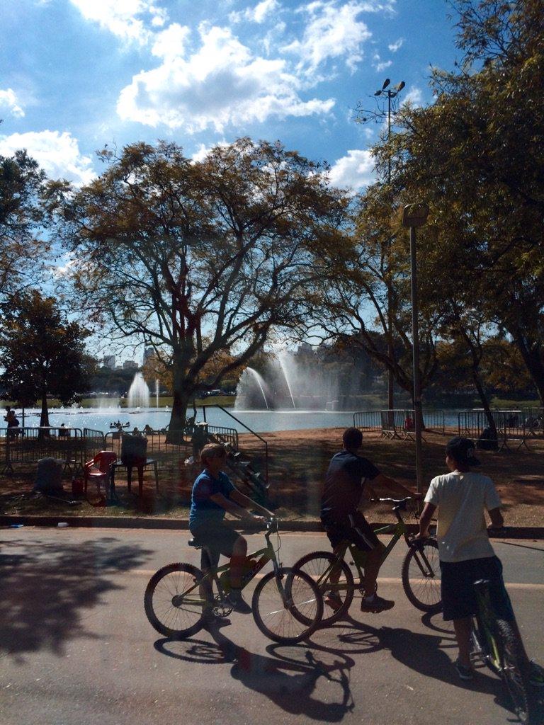 Parque Ibirapuera (サンパウロのイビラプエラ公園)