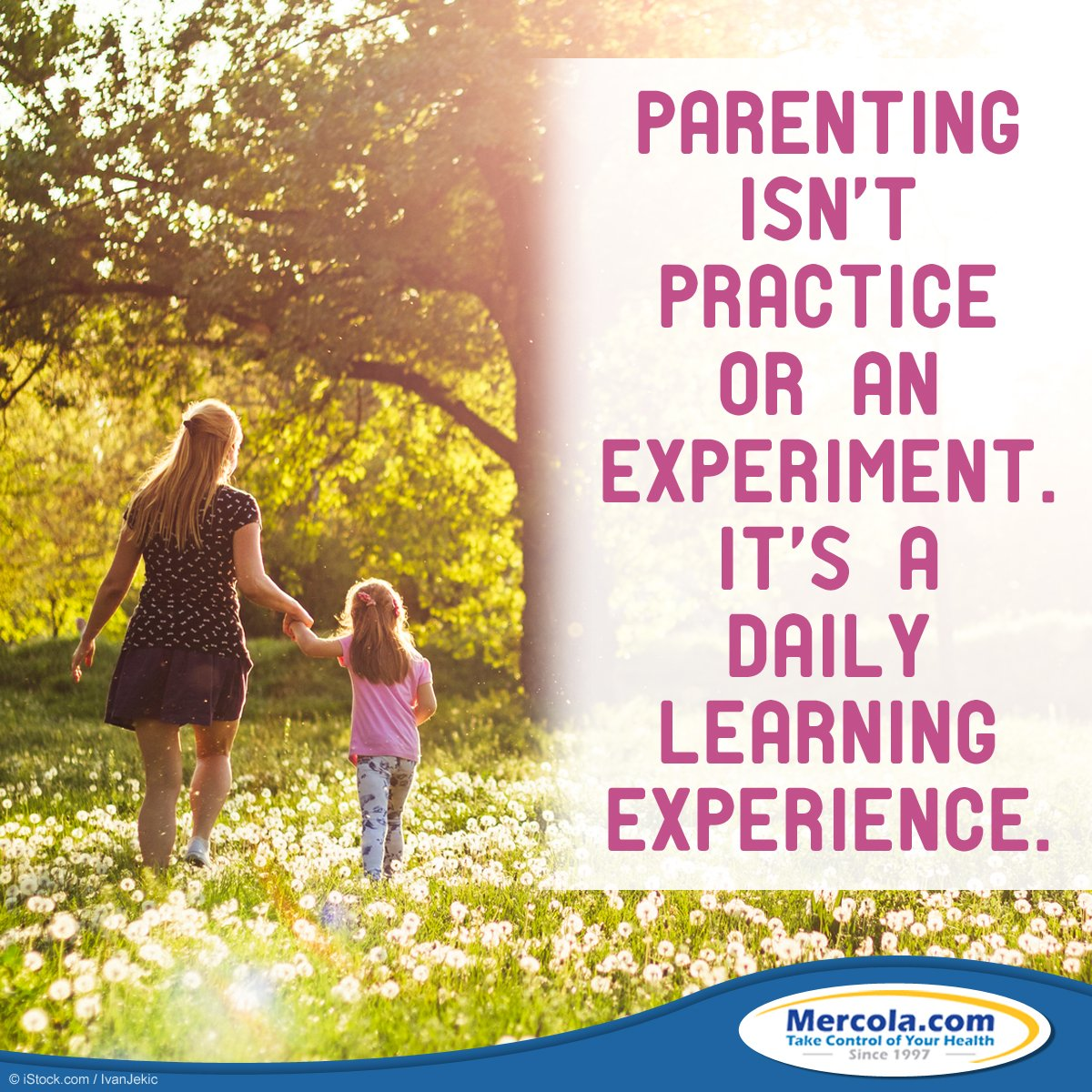 #Parenting isn't practice or an experiment. It's a daily learning experience. https://t.co/vAYLnOPIeY