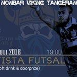 #NobarVitang Hari ini. Kita balik lagi ke Otista Futsal yah. See You There!! https://t.co/N3wYsbyg2A