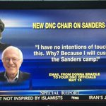 Donna Brazile thinks Bernie Sanders is Scum according 2her email rigging the system against him. #DNCinPHL #DNCleaks https://t.co/pY3YC0K5NX