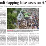 'Modi slapping false cases on AAP' Kejriwal says PM getting political opponents arrested instead of protecting wom… https://t.co/Ri1hhFhJz1