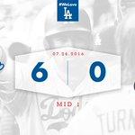 Mid 1: #Dodgers 6⃣, Cardinals 0⃣ 👏 https://t.co/otUgwgppi4