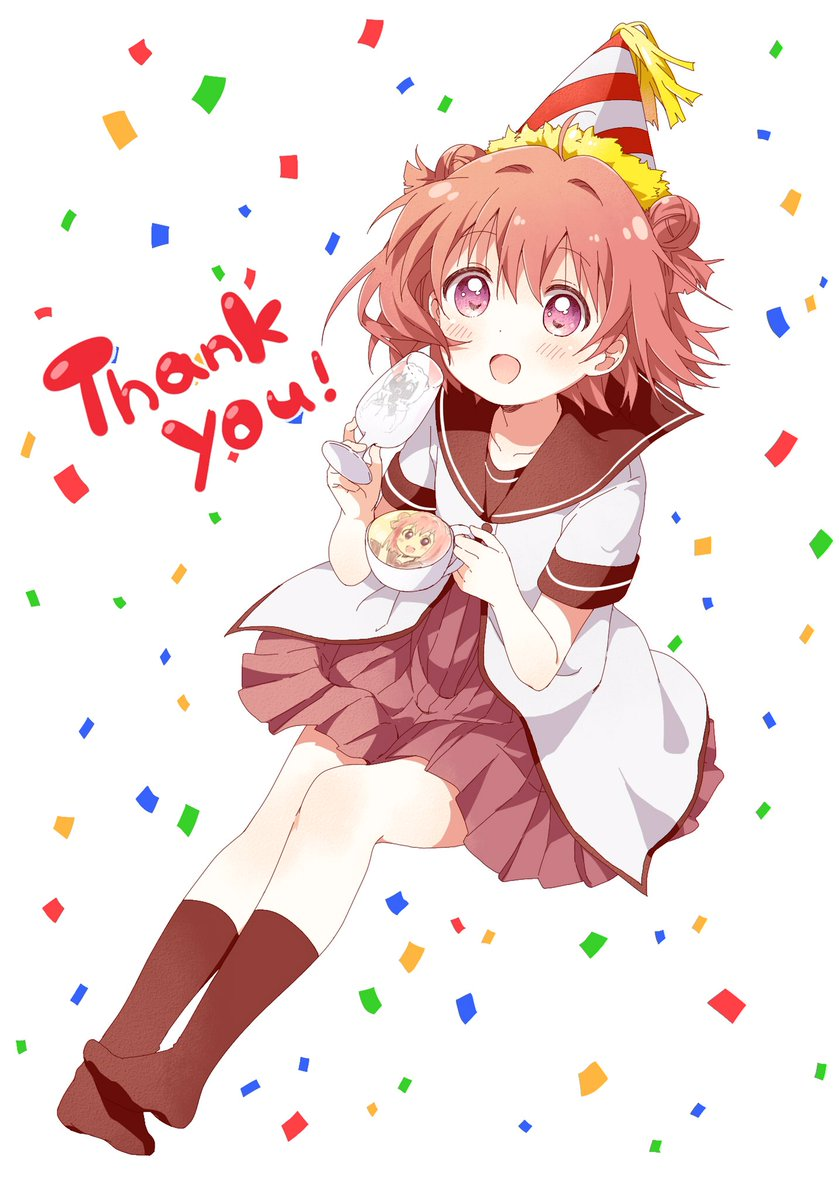 あかりの誕生日を祝って下さったみなさまありがとうございましたーー(*^^*)♪ #yuruyuri