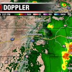 Outflows from storms in the East Mountains may spawn a storm or two in the #ABQ Metro in a bit...#nmwx https://t.co/2bAAT4A51v