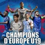 Nos Bleuets sont sur le toit de lEurope! 🏆 🇫🇷 #FRAITA #EuroU19 4-0 https://t.co/A2vS93566C