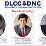 Tune in Monday 7/25 as #OR Rep. @TinaKotek, #CA Sen. @kdeleon, & #GA Rep. @staceyabrams address DNC! #DemsinPhilly https://t.co/3h9wnPvbVo