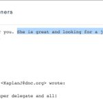 "DNC offered job to super delegates friend for vote? ""Ill make you a deal."" #DNCLeak https://t.co/z7bCytppG9 https://t.co/qVsvLe643C"