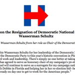 Confused with @HillaryClinton 's statement on @DWStweets resignation. Zero accountability even w/ what we know. https://t.co/Lwky4D6Zdl