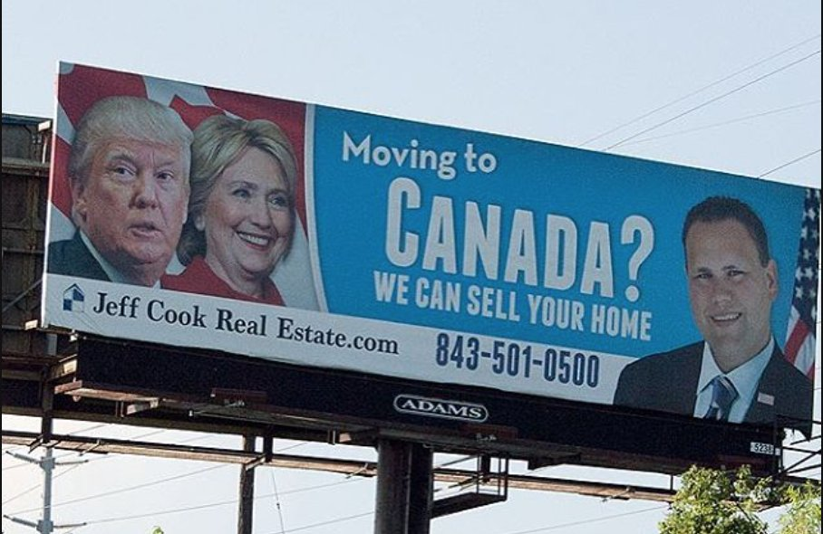 One person who loves both candidates for president, Realtor Jeff Cook https://t.co/1hWKr16yER
