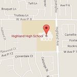 #SandFire Evacuation Center at Highland High School, 39055 25th St West, Palmdale #LASD #SCV https://t.co/bafcZud91j