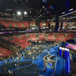 Just made it to the convention floor. #DNCinPHL @ABC7NY https://t.co/vtDaVylQOd
