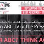 The culling season at the ABC #auspol https://t.co/8z81SxT0Qd https://t.co/sQYKqsEUEA