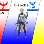 #PokemonGO Team Leaders revealed! Team Valor: Candela. Team Mystic: Blanche. Team Instinct: Spark. https://t.co/j05H5K0tfY