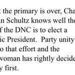 .@NancyPelosi on DWS stepping down - calls it right decision for party unity: https://t.co/feDIPMkq53