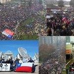 Frío día no apaciguó indignación d miles de Chilenos contra frío sistema #NOMasAFPs #JubilazoParaTodos aquí imágenes https://t.co/0p2urV4I0G