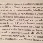 En «Poderoso Caballero», explico que no sólo dictadura tuvo vínculos con AFP. Aquí, los nexos con la Concertación: https://t.co/3f9eTLbmwl