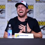 Our reaction when @StephenAmell says #Olicity is done... #Arrow #CWSDCC 😂😭 https://t.co/YNoXiG0lIM