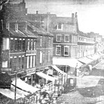 One of earliest photos of Philadelphia (Eighth & Market Streets): #FreeLibrary https://t.co/f7mwT5F9Re