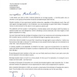 I wrote a letter to the PM, because his plebiscite on marriage equality will hurt people. https://t.co/yQp5XTdVxE