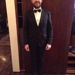 listo para Los Premios platinos traje de @garcongarcia zapatos de @pasodehombre y styling @gabymm19 https://t.co/NgAusjcll8