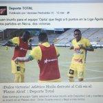 ¡Dulce victoria! @AtleticoHuilaof derrotó a @AsoDeporCali en el Plazas Alcid, nuestro fortín. https://t.co/RQwunNm5g1