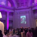 Franklin Institute is @SEIU purple tonight! #1u #DemsInPhilly https://t.co/c8tkOJ3W2v