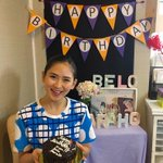 Happiest birthday #sarahgeronimo! 💋 hope you loved our #belo birthday surprise! ❤️😍🎉 https://t.co/DJIJE1fnTh