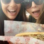 So basic — but we dont care! When in Philadelphia, we eat cheese steak, even if we split it! #DNCinPHL https://t.co/wQ5SCqEZvP