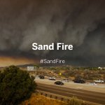 20,000 acres of #SantaClarita valley burn as #SandFire remains no more than 10% contained. https://t.co/yors9y8i6Z https://t.co/PBKLv3K20x