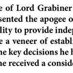 The apogee of weak corporate governance - MPs verdict on Lord Grabiners role in BHS sale https://t.co/gkcHVdtEYC