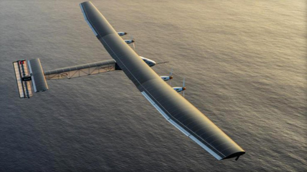 Sunlight powers an aviation milestone with the Solar Impulse