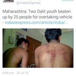 Were these men beaten up BECAUSE they were Dalits? Or they happen to be victims who are Dalits? Why the caste angle? https://t.co/2Jmtjg9Jb9
