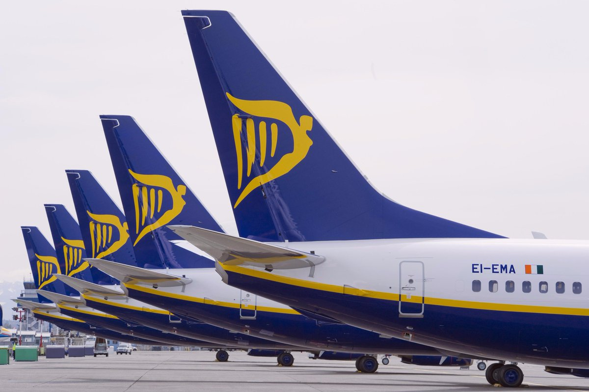 Ryanair Q1 profits rise 4% to €256m as fares fall 10% to under €40