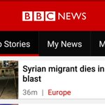 I am not kidding. @BBCNews website leaves the impression the Syrian suicide bomber as a victim in a German blast. https://t.co/M61HJcOoAE