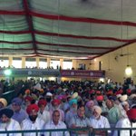 Winds of change are taking Punjab by storm.Huge gathering @ HVC,Dasuya even after heavy rains #HoshiarpurVichCaptain https://t.co/T09R2wF25x