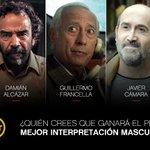 ¿Quién crees que ganará el premio a mejor interpretación masculina? #PremiosPlatinoTNT https://t.co/yELiFdZ29J