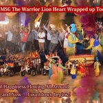 Waves of happiness, Enjoyment flowing Worldwide 💐4 #MSGTheLionHeart shooting completed Guru @Gurmeetramrahim ji👌👍😊 https://t.co/iqHXFG9PW1