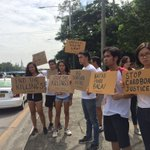 UP Alyansa & Student Council Alliance of Phil. call Pres. #Duterte to end #CardboardJustice https://t.co/fRO0ECN5qh |@mbrizuelaINQ #SONADu30