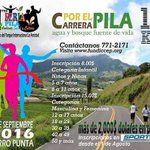 11ma. Feria del PILA, Carrera por el Pila, agua y bosque fuente de vida, 4 de septiembre 2016, Cerro Punta Chiriquí. https://t.co/FOivPWlfFH