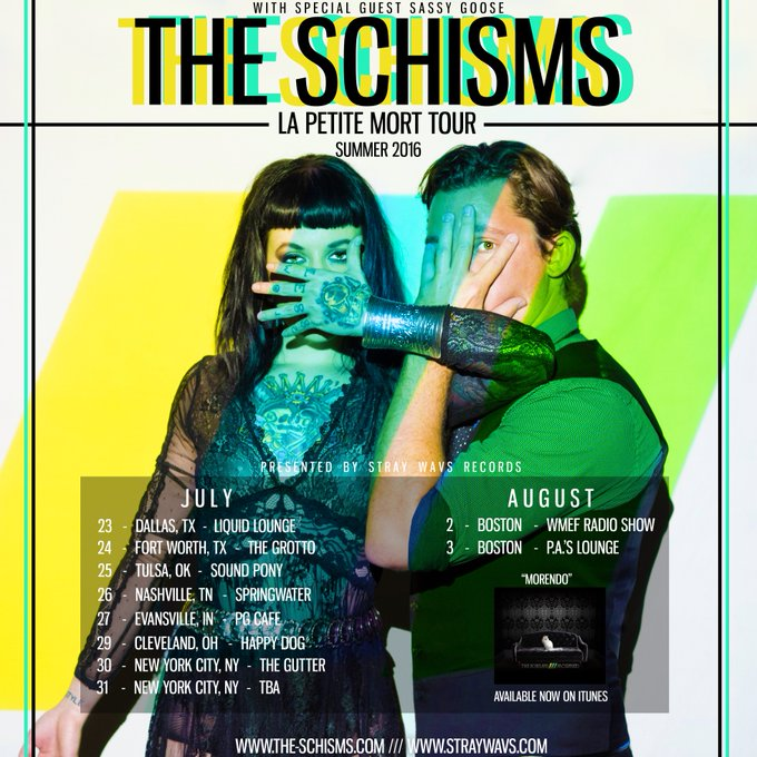 From #Texas to #NewYork. Fux with me. #tourlife @theschisms @StrayWavsATX #femalemusicians #livemusic