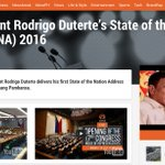 Choose your stream! Watch the opening of the 17th Congress and #SONA2016 on Rappler. LIVE: https://t.co/XalIHljVsK . https://t.co/JZA68wm3ZF