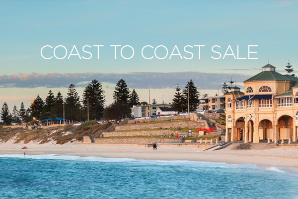 Check out today's great Coast To Coast sale fares here: