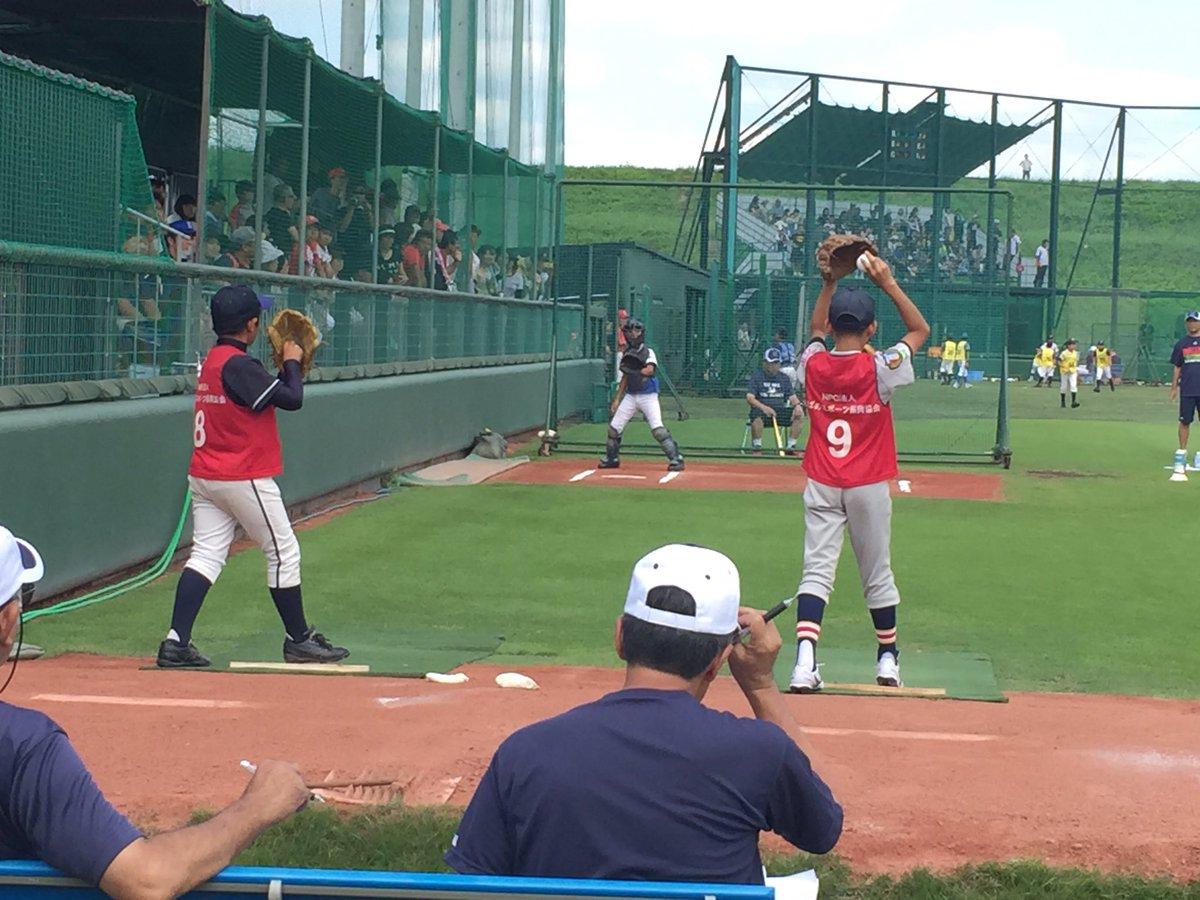 戸田グランドではスワローズジュニア一次選考会が行われています⚾︎ 野球少年のガッツあるプレー、ハキハ…