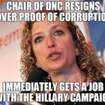 Crooked Hillary hired Crooked Debbie. Nothing to see here, folks. Just more democrat corruption. #DNCleak #DemExit https://t.co/EFUANaXzlS