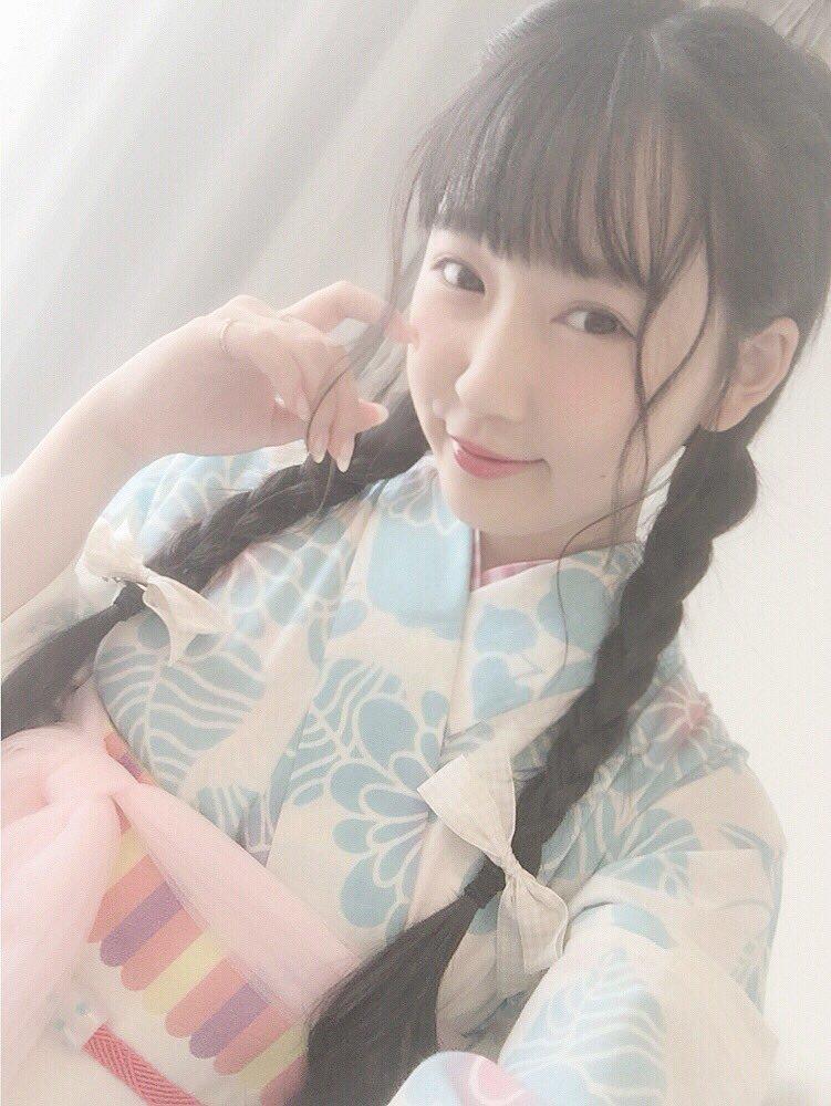 今年初浴衣でした♡゛  #ふりふ #三松 さんのもの、 かっ、かわいすぎ、る、、!